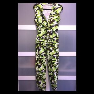 Other - 🆕 Neon Camo jumpsuit